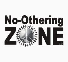 No-Othering ZONE™ - white t-shirt Kids Tee