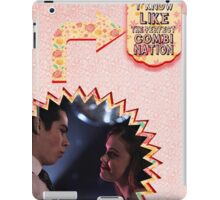 My Teenwolfed Valentine [We Are The Perfect Combination] iPad Case/Skin