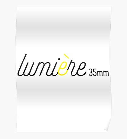Lumiere35mm White Poster