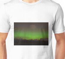 Northern Lights from Carrickfergus, Northern Ireland Unisex T-Shirt