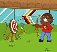 Olympic Sports: Archery by alapapaju
