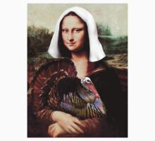Mona Lisa Thanksgiving Pilgrim Kids Clothes
