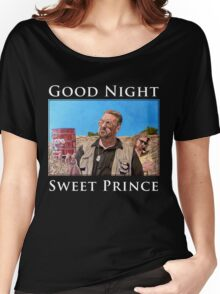Good Night Sweet Prince Women's Relaxed Fit T-Shirt