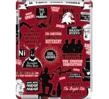 Monty Python Quotes A Very Silly Shirt iPad Case/Skin