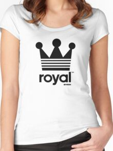 Royal Crown-Revision Apparel™ Women's Fitted Scoop T-Shirt