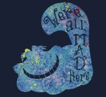 We're All Mad Here Kids Tee