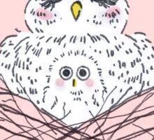 Mom & Baby Owl Sticker