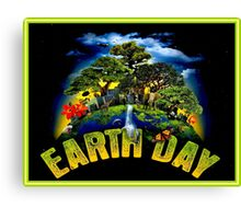 EARTH DAY; Conservation Advertising Print Canvas Print