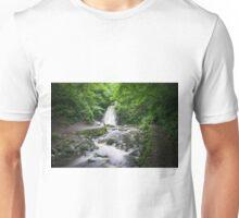 Glenoe waterfall - Northern Ireland Unisex T-Shirt
