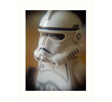 Clone Trooper Art Print