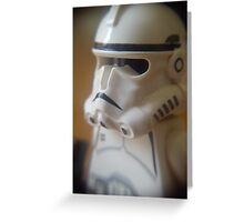 Clone Trooper Greeting Card