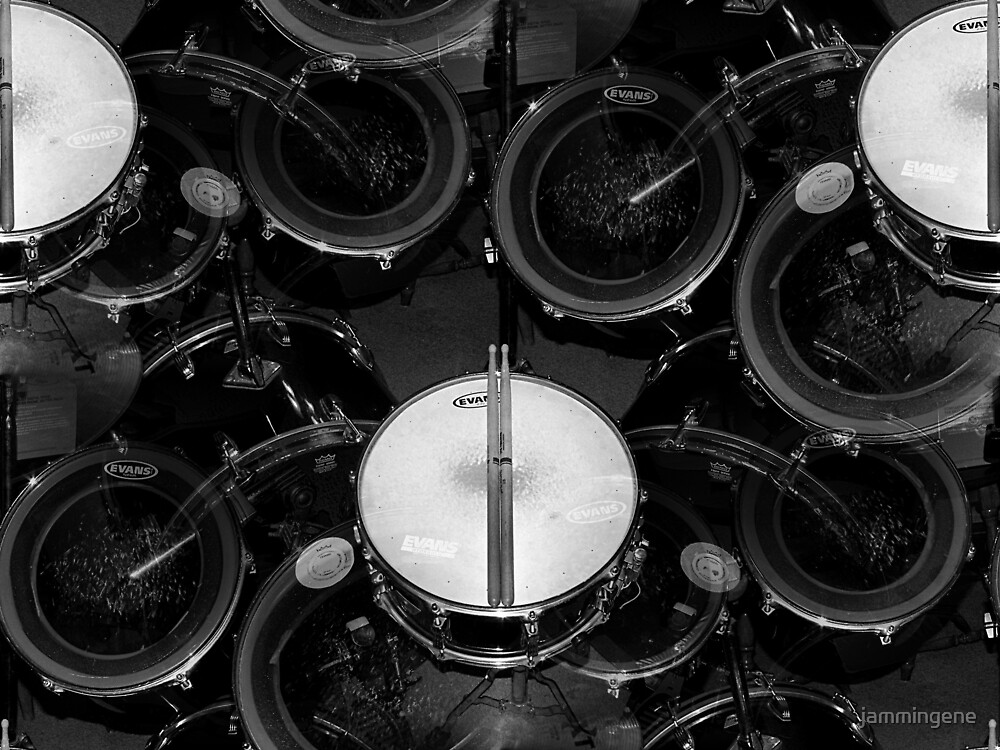 My favorite thing in the world..drums everywhere..☺☺☺☺☺ by jammingene