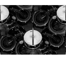 My favorite thing in the world..drums everywhere..☺☺☺☺☺ Photographic Print