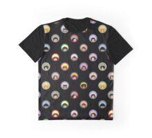 Daria's World Black Graphic T-Shirt