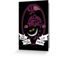 Cheshire Greeting Card