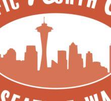 Pacific North West - Seattle ORANGE Sticker