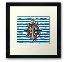 Oceanic Quest Framed Print