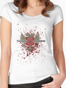 Fucking Russians Women's Fitted Scoop T-Shirt