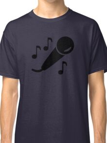 Microphone notes Classic T-Shirt