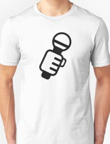 Microphone Music Singer Unisex T-Shirt