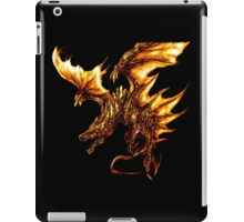 Fiery Molten Burning Dragon Design iPad Case/Skin