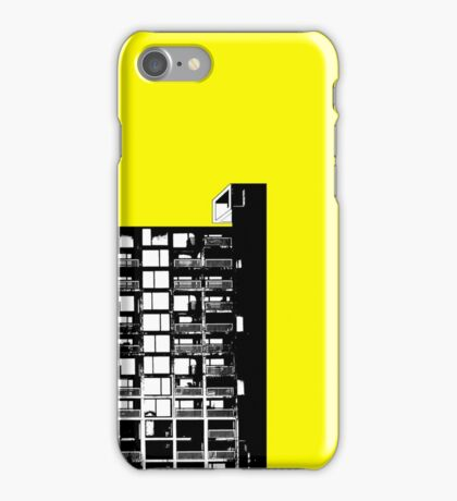 Facing the North - Yellow iPhone Case/Skin