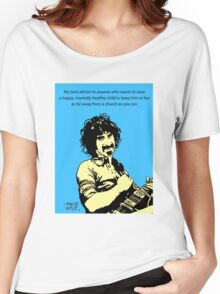 Frank Zappa atheist Women's Relaxed Fit T-Shirt