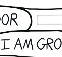 Hodor - I Am Groot Sticker