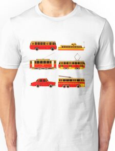 Retro transports Unisex T-Shirt