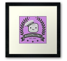 Stay Puft Marshmallows Framed Print