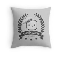 Stay Puft Marshmallows Throw Pillow