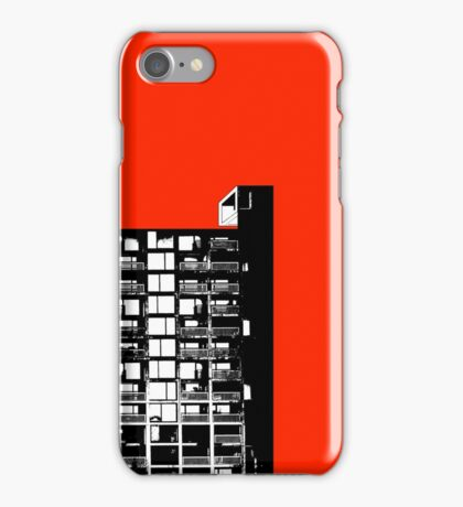 Facing the North - Red iPhone Case/Skin
