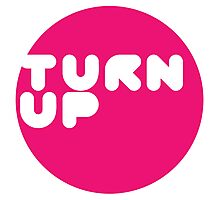 Turn up Photographic Print