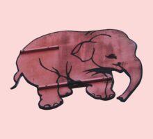 Seeing Pink Elephants? One Piece - Short Sleeve