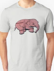 Seeing Pink Elephants? Unisex T-Shirt
