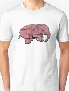 Seeing Pink Elephants? Unisex T-Shirt
