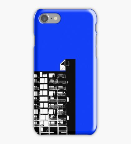 Facing the North -Blue iPhone Case/Skin