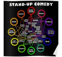 Comedy Chart Poster