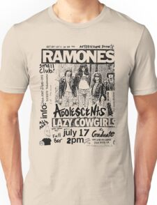 Old Punk Flyer Unisex T-Shirt