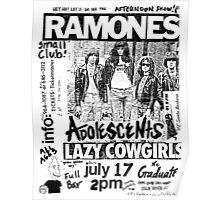 Old Punk Flyer Poster