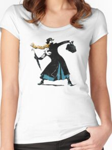The Nanny Women's Fitted Scoop T-Shirt
