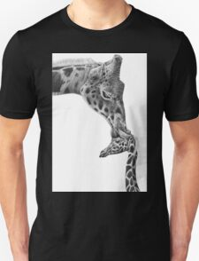 Giraffe and Calf Unisex T-Shirt