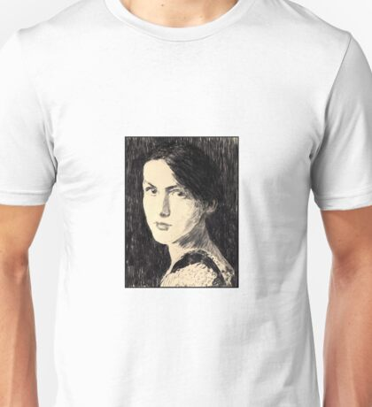 'Volto di Donna' after Vittorio Matteo Corcos. Unisex T-Shirt