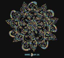 Tie Dye Mandala by annabeldumpling