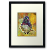 Perfectly Plump by Chris Brandley Framed Print