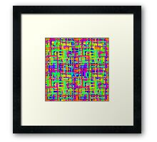 straight from scratch, selection tool and alt y mayus Framed Print