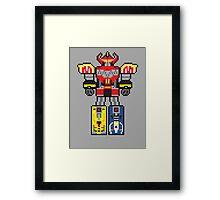 Megazord Framed Print