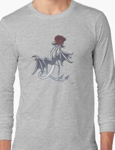rose and dragon Long Sleeve T-Shirt