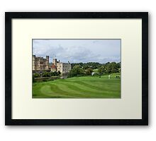 Putting at Leeds Castle Golf Course Framed Print