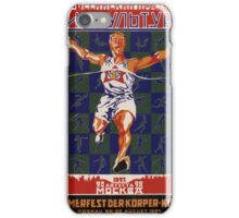 Soviet Festival of Sport, 1927 iPhone Case/Skin